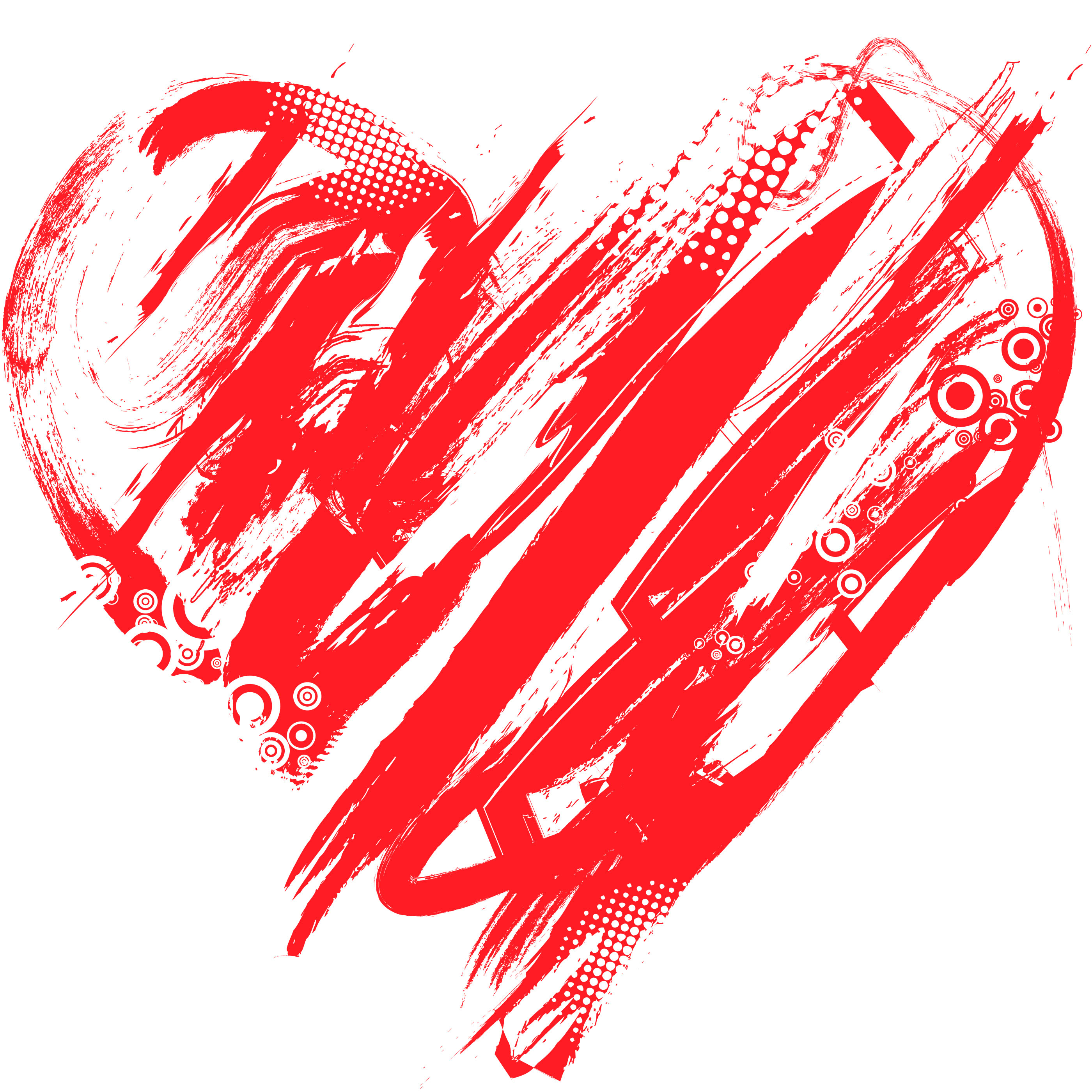 valentines day heart modern art image wallpaper encore executive